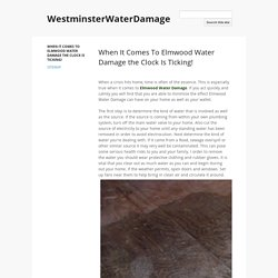 WestminsterWaterDamage
