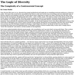 cscs.umich.edu/~crshalizi/bulletin/logic-of-diversity.html