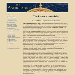 personal astrolabe
