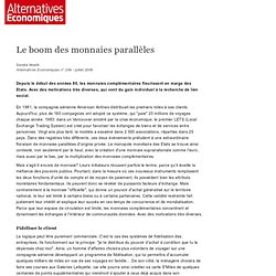 Le boom des monnaies parallèles - MOATTI Alternatives Eco.pdf