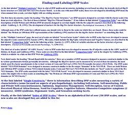 ipip.ori.org/newFinding_Labeling_IPIP_Scales.htm