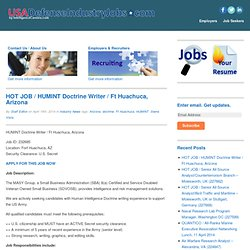 USADefenseIndustryJobs.com | an IntelligenceCareers.com website