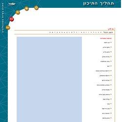 תהליך התיכון - מילון