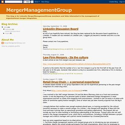 MergerManagementGroup