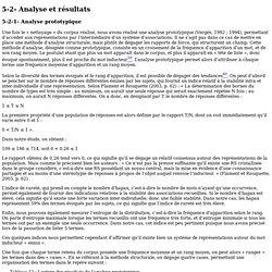 Analyse prototypique