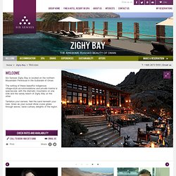 Oman Resort Villa and Holiday Accommodation - Six Senses Zighy Bay