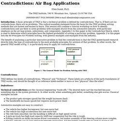 contradictions problem solving triz-journal.com