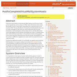 PostfixCompleteVirtualMailSystemHowto
