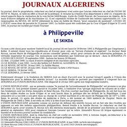 Journaux Constantionois