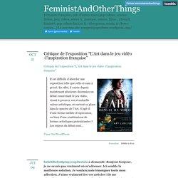 FeministAndOtherThings