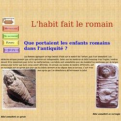 Mode romaine (collège Jaurès de Cransac)