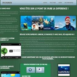 e+Green - Votre ordinateur, vert.
