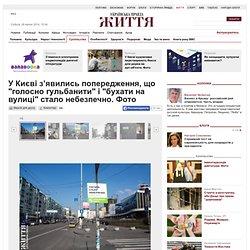 """У Києві з'явились попередження, що """"голосно гульбанити"""" і """"бухати на вулиці"""" стало небезпечно. Фото"""