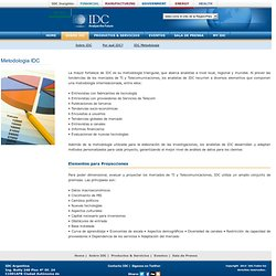 IDC (International data corporation)