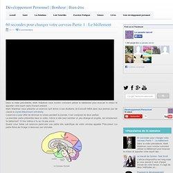 60 secondes pour changer votre cerveau Partie 1 : Le bâillement