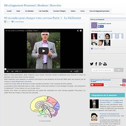 Bien-être: 60 secondes pour changer votre cerveau Partie 1 : Le bâillement