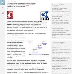 Создание семантического веб-приложения