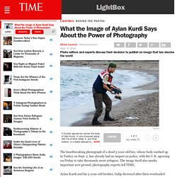 What the Image of Aylan Kurdi Says About the Power of Photography