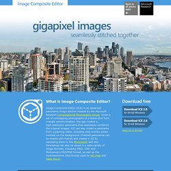 Research Image Composite Editor (ICE)