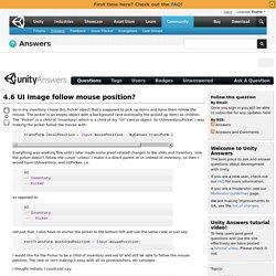 4.6 UI Image follow mouse position?