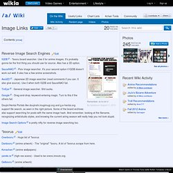 Image Links - /a/ Wiki