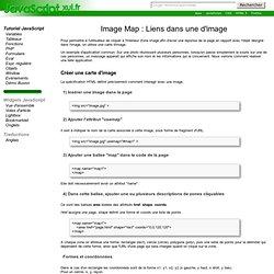 Image Map : Liens dans une d'image