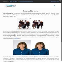 Image masking service & hair masking service provider