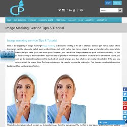 Image masking service Tips & Tutorial