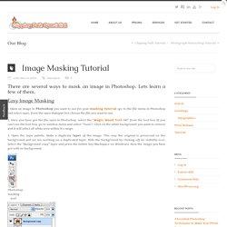 Image Masking Tutorial