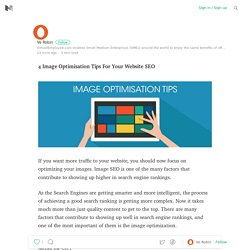 4 Image Optimisation Tips For Your Website SEO