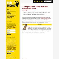 7 outils de recherche d'images