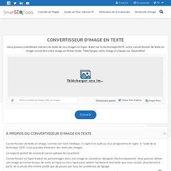 IMAGE EN TEXTE - Un outil gratuit de conversion en ligne OCR