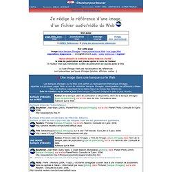 Image, son, vidéo Web : Exemples de référence
