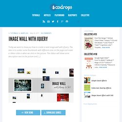 Image Wall with jQuery