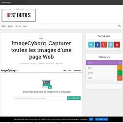 ImageCyborg. Capturer toutes les images d'une page Web – Best Outils