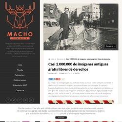 Casi 2.000.000 de imágenes antiguas gratis libres de derechos