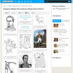 Imagenes Dibujos Para Colorear Dibujo Simon Bolivar