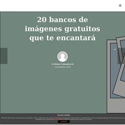 20 bancos de imágenes gratuitos que te encantarán