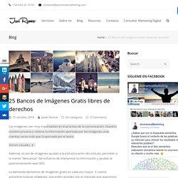 25 Bancos de Imágenes Gratis libres de derechos - Agencia Marketing Digital - Consultor Javier Ramos