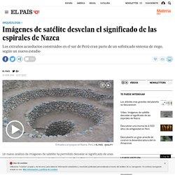 Nazca: Imágenes de satélite desvelan el significado de las espirales de Nazca