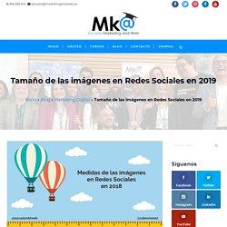 Tamaño de las imágenes en Redes Sociales en 2018