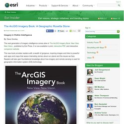 The ArcGIS Imagery Book: A Geographic Rosetta Stone