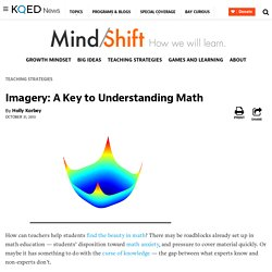 Imagery: A Key to Understanding Math