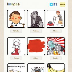 English Image flashcards