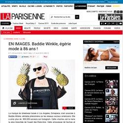 EN IMAGES. Baddie Winkle, égérie mode à 86 ans !