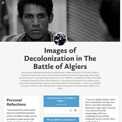 Images of Decolonization in The Battle of Algiers