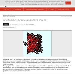 Images des mathématiques: mouvement de foule