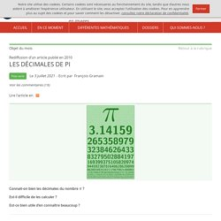 Images des mathématiques