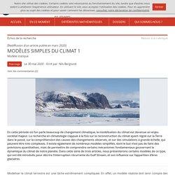 Modèles simples du climat 1 – Images des mathématiques