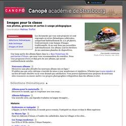 : photos, gravures et cartes à usage pédagogique CRDP Alsace
